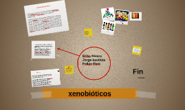 xenobióticos