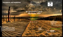 Back to School - Film Studies 2018-19