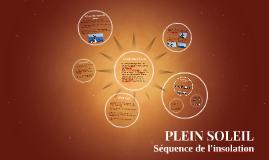 Copy of PLEIN SOLEIL