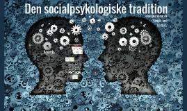 Den socialpsykologiske tradition