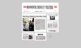 MOVIMIENTOS SOCIALES Y POLITICOS