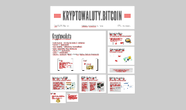 Bitcoin - krótka prezentacja