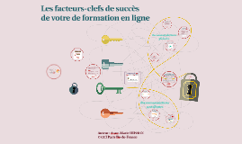 Les facteurs-cles de succès