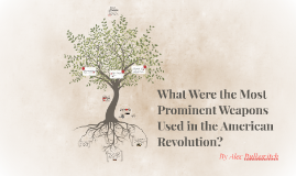 What Were the Most Prominent Weapons Used in the American Revolution?