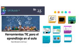 Herramientas TIC para el aprendizaje en el aula