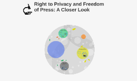 Right to Privacy and Freedom of Press: A Closer Look