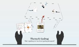 Thema 7: Gedrag & Beweging