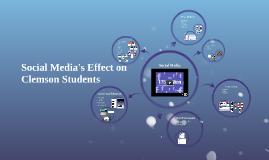 Social Media's Effect on