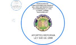 ASOCIACIÓN DE CONCILIADORES EN EQUIDAD DEL ÁREA METROPOLITAN