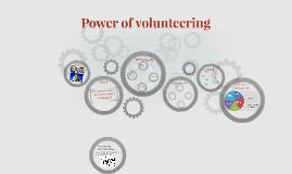Power of Volunteering