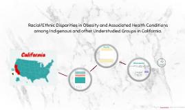 Racial/ethnic disparities in obesity and associated health c