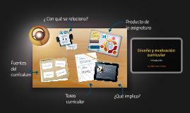 Diseño y evaluación curricular