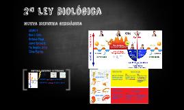 2ª Ley biológica