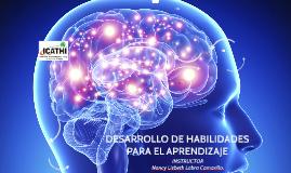 Copia de Copy of DESARROLLO DE HABILIDADES PARA EL APRENDIZAJE