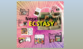 Negative affects of ecstasy...