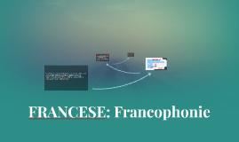FRANCESE: Francophonie