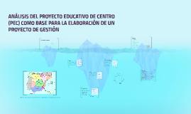 Elaboración de un Proyecto de Gestión a partir del estudio c