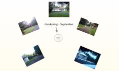 Gardening ~ Sept', 09