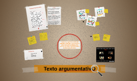 Texto argumentativo