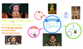 Henry VIII's foreign policy