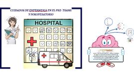 Copy of CUIDADOS DE ENFERMERIA EN EL PRE- TRANS Y POSTOPERATORIO