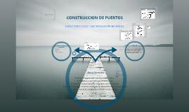Construcción de Puertos