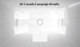 Air Canada Campaign