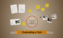Evaluating a Text