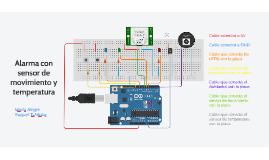 Alarma con sensor de movimiento y temperatura