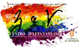 CENTRO DE ACOGIDA ZULETA Y VELANDIA