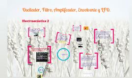 Copy of Oscillator, Filter, Amplifier, Envelope, and LFO