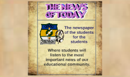 The newspaper of the students for the students