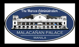 SOC1 The Marcos Adminsitration (1965-1986)