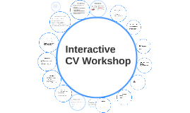 Interactive CV Workshop