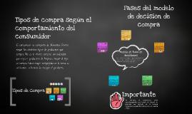 Copy of Tipos de compra según el comportamiento del consumidor