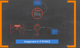 Assignment 4: IT ETHICS