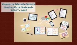Proyecto de Educación Sexual y Construcción de Ciudadanía,   IE Benjamin Herrera