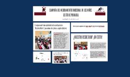 CAMPAÑA DEL MEJORAMIENTO EMOCIONAL DE LOS NIÑOS DE 6TO DE PR