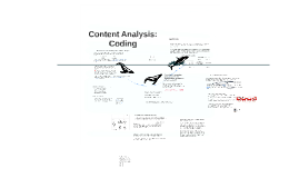 Coding in Content Analysis