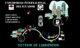 SITEMA DE LUBRICACION
