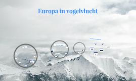 Europa in vogelvlucht
