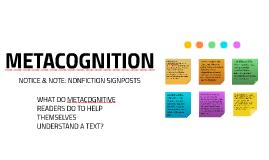 Copy of Metacognition: Nonfiction Signposts