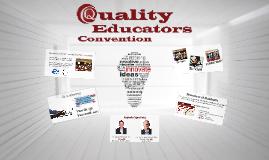 Quality Educators Convention
