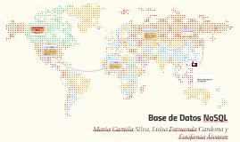 BASE DE DATOS NoSQL
