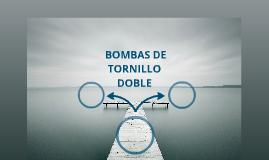 BOMBAS DE TORNILLO DOBLE