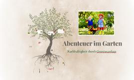 Abenteuer im Garten