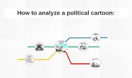 How to analyze a political cartoon: