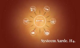 Systeem Aarde. H4.