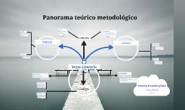 Panorama teórico metodológico
