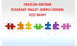 Problem Solving Unit - 5th Grade